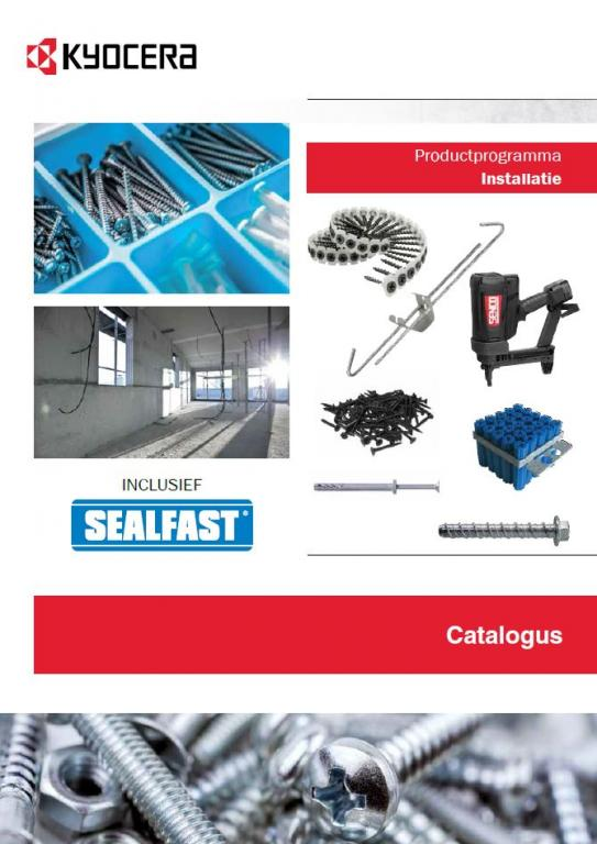 PBT Installation catalogus NL